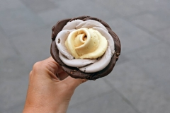 Rose Gelato- Beautiful and Delicious!