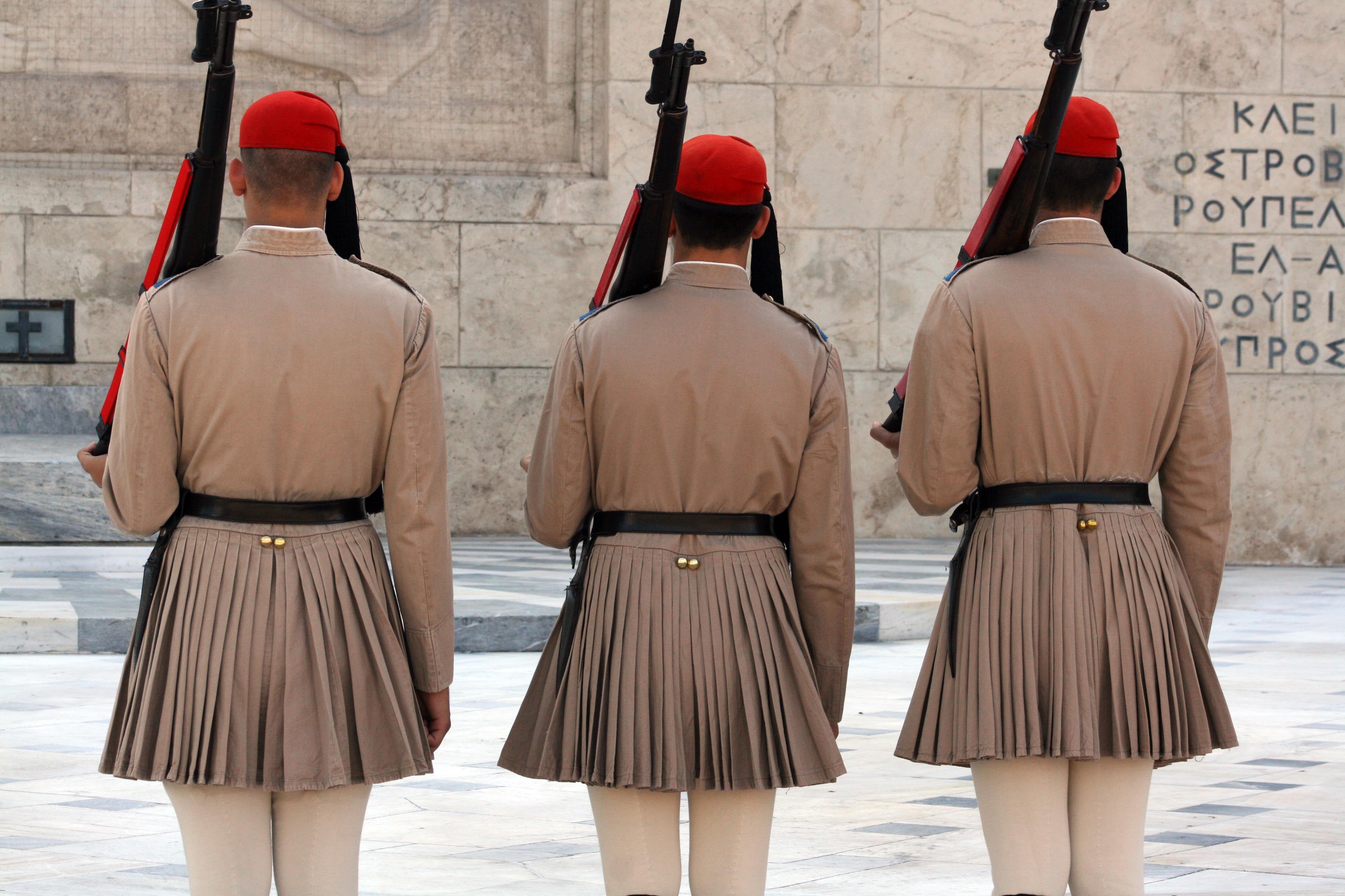 Syntagma Square changing of the guard
