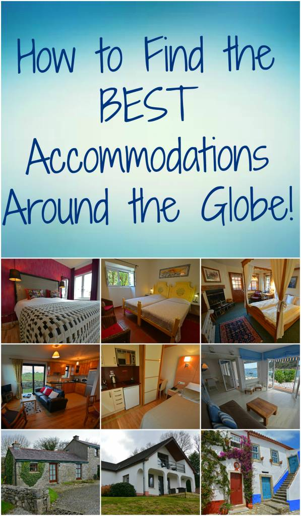 Accommodations Around the World Pin