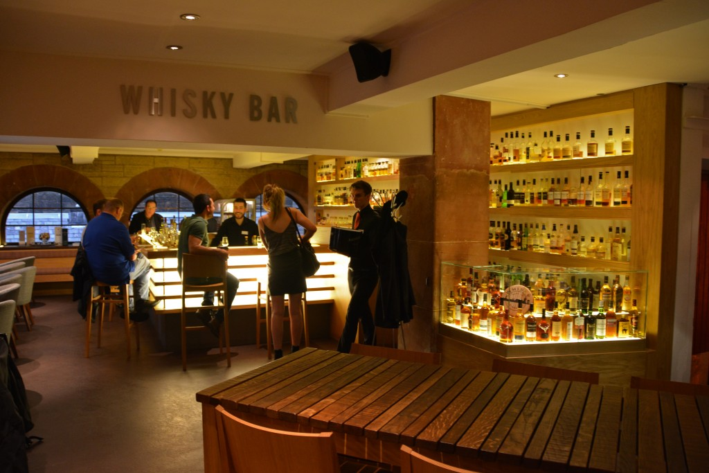 Amber restaurant and whisky bar