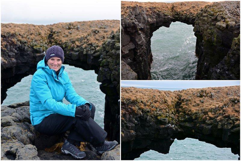 Natural Arch - Arnarstapi Iceland