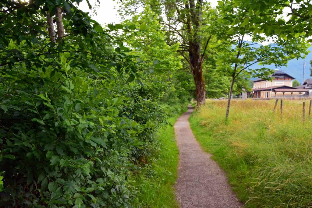 Walking path Bad Goisern Austria