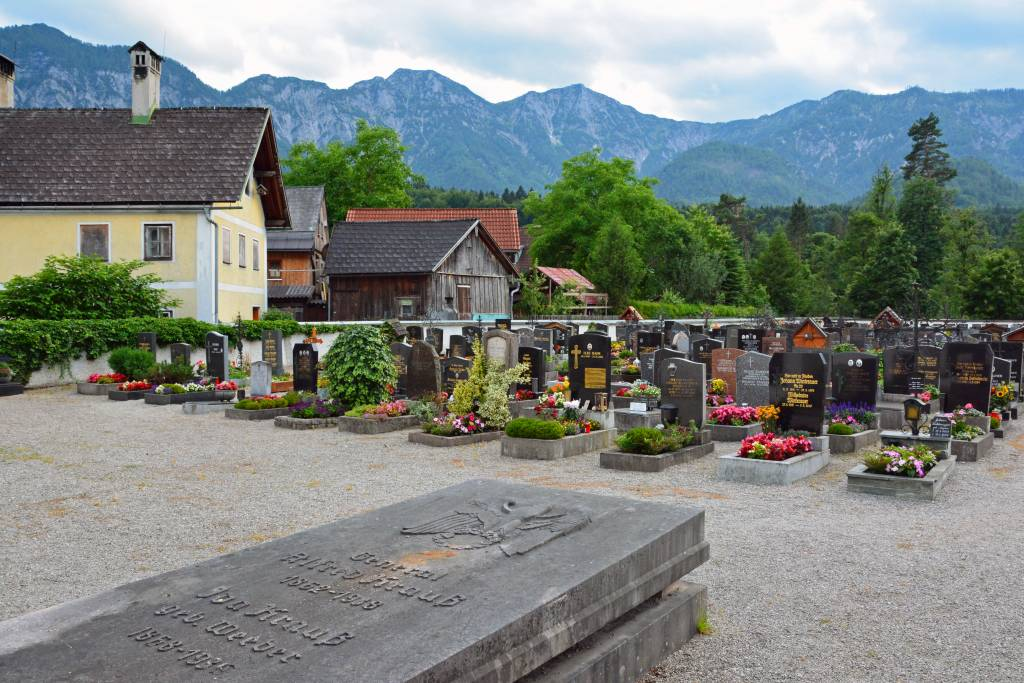 Bad Goisern Austria Cemetery