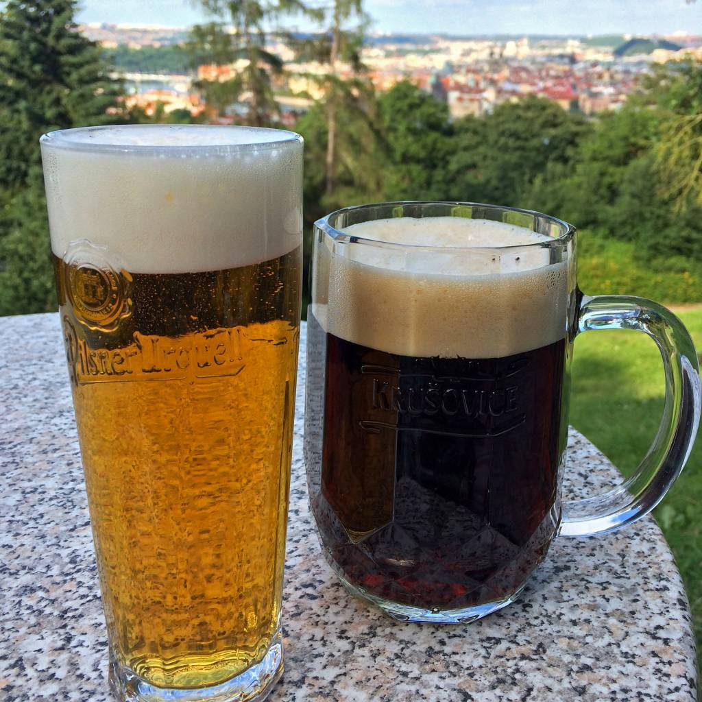 Beers in Prague