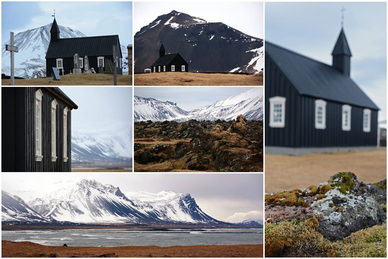 Black Church Iceland - Búðir Snæfellsnes Peninsula