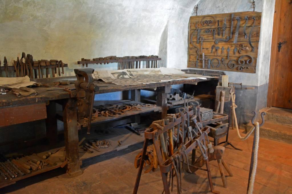 Cesky Krumlov Blacksmith forge