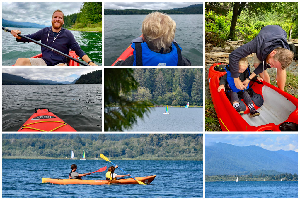 Lake Quinault kayaking and sailing