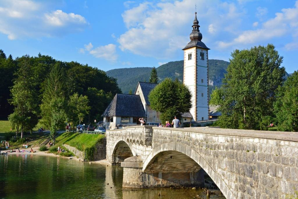 Church of St John the Baptist in Bohinj