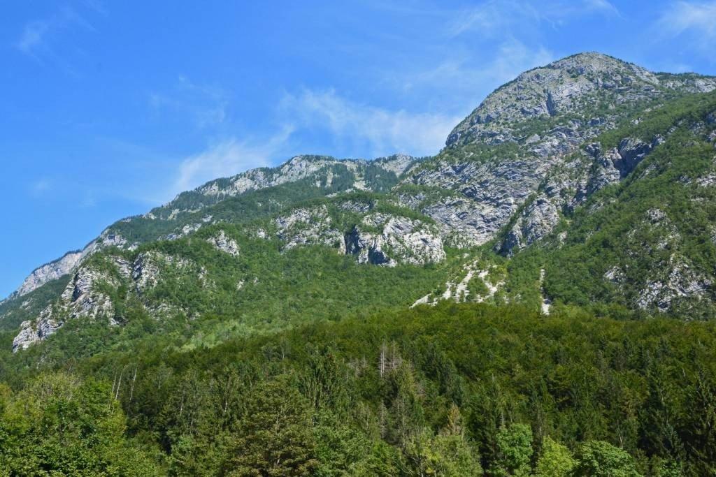 Bohinj Mountains at Lake Bohinj