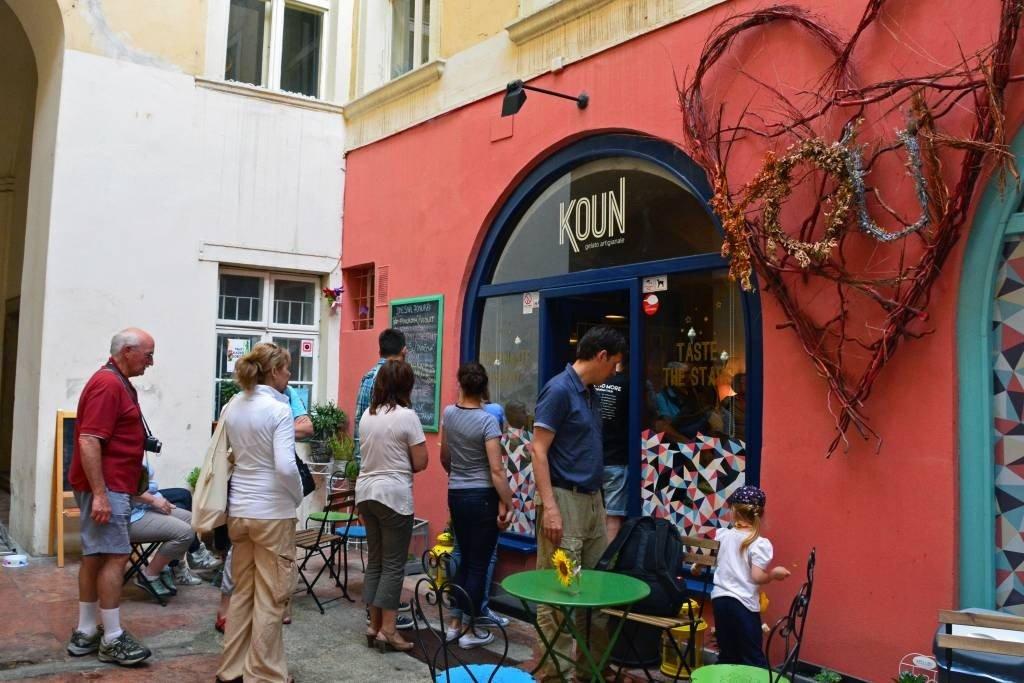 Bratislava ice cream