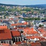 Scenic City Views in Bratislava, Slovakia