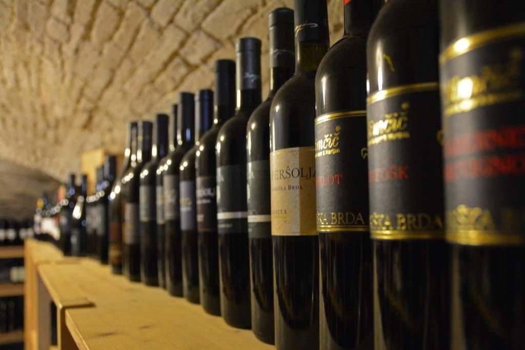 Dobrovo Castle Wine Cellar