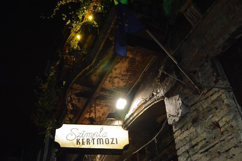 Ruin Bars Budapest