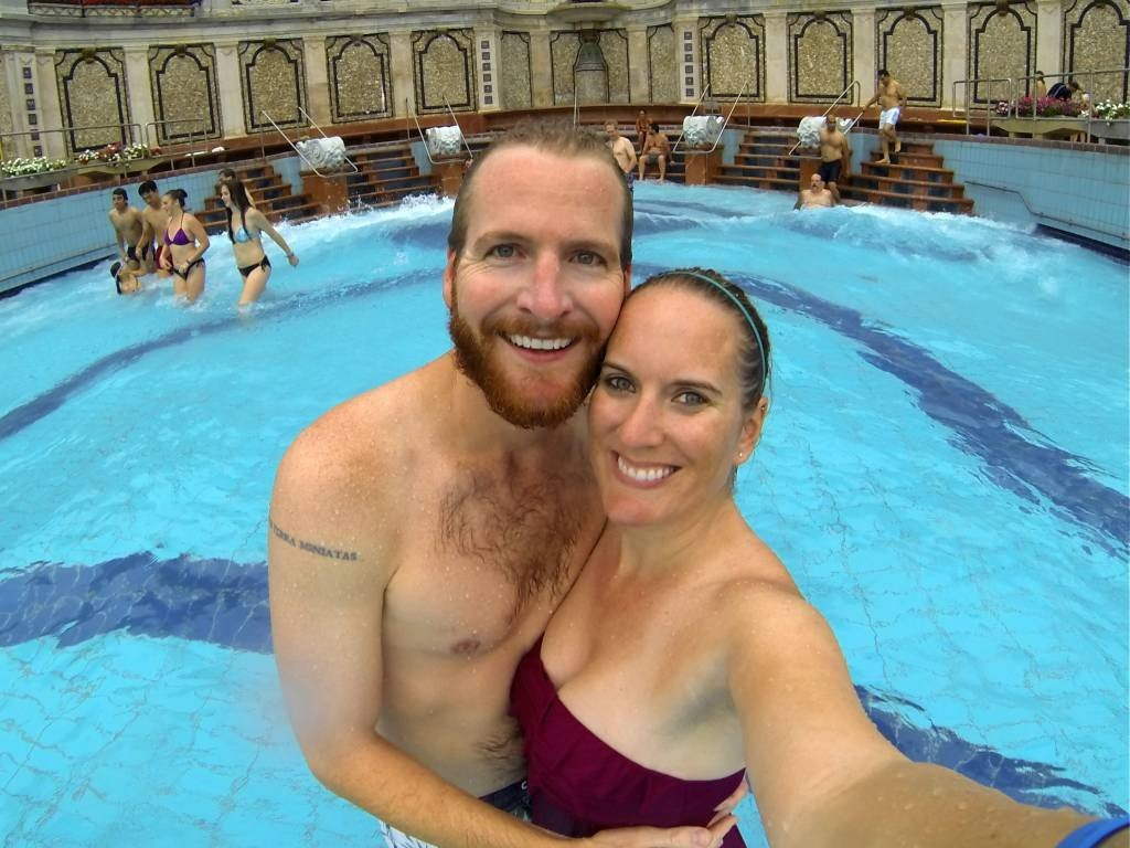 Budapest Spa Gellért Bath Wavepool