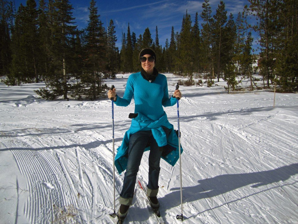 Toccara Forget Someday Travel Blog cross country skiing