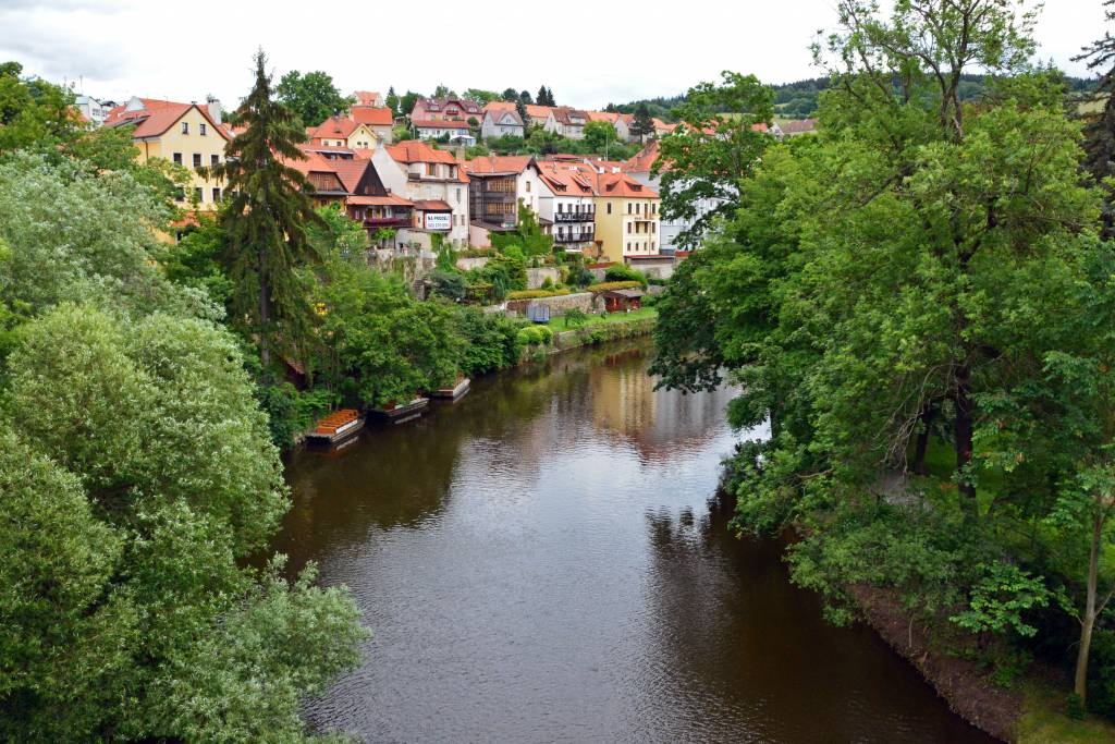 Rafting In Cesky Krumlov Forget Someday - Czech river