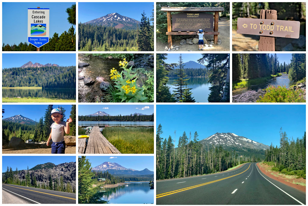 cascade lakes scenic byway