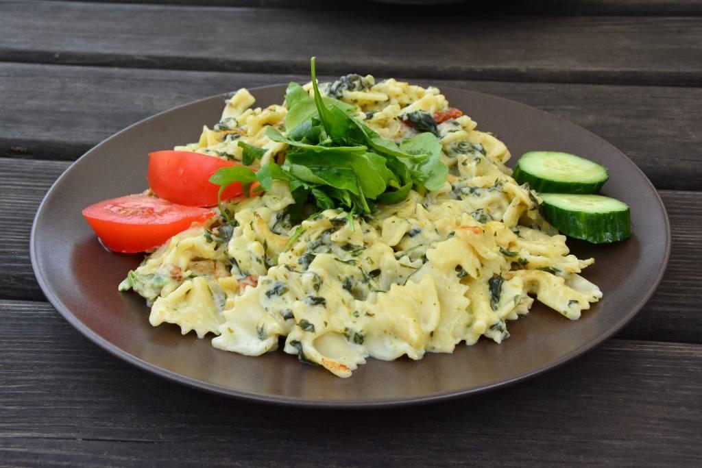 Gorgonzola pasta dish
