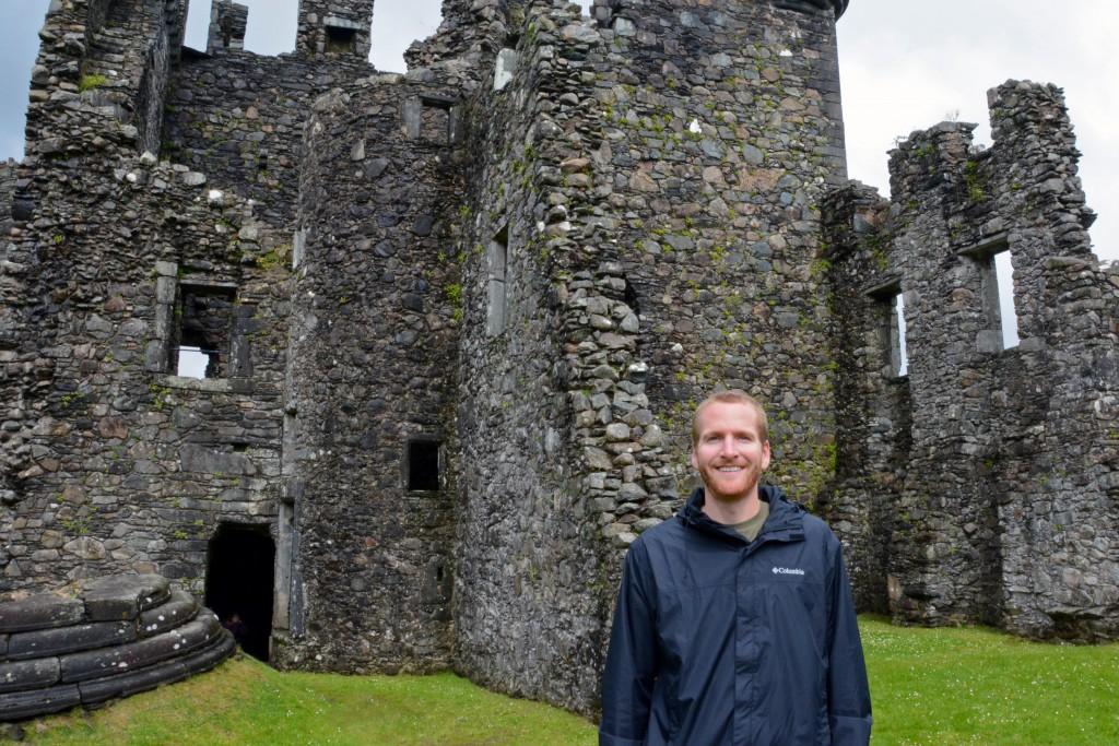 Kilchurn Castle in Loch Lomond Scotland