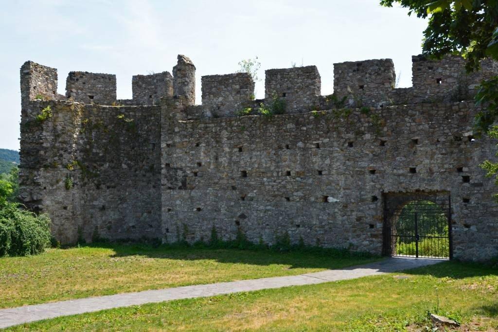 Gate of Devin Castle Bratislava Slovakia