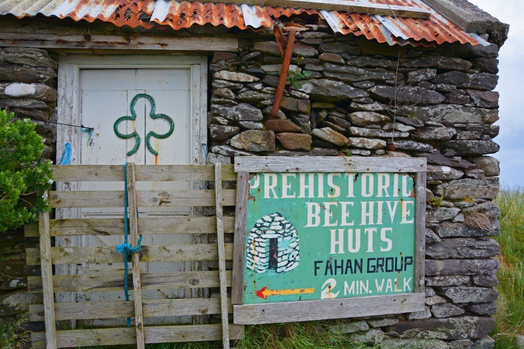 Bee Hive huts Ireland