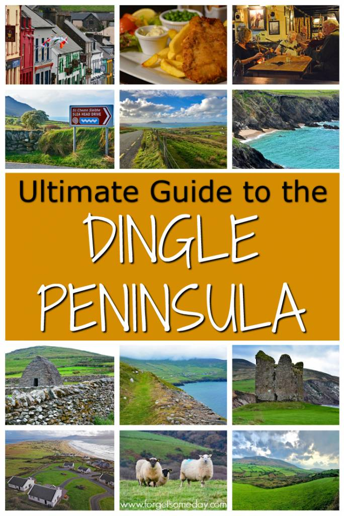 This massive Dingle Peninsula Guide is the ultimate tool to help you plan your visit to one of the most beautiful places in Ireland. #dinglepeninsula #dingle #ireland #whattodoindingle #bestplacesinireland #sleaheaddrive