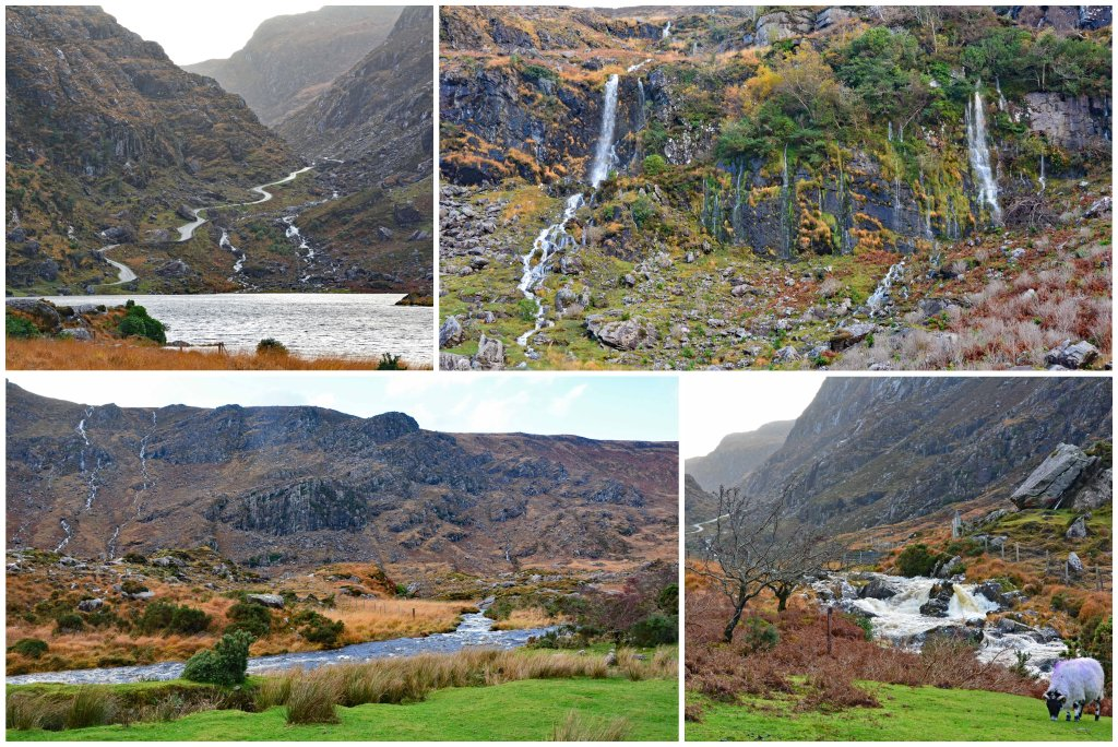 Gap of Dunloe lakes and streams