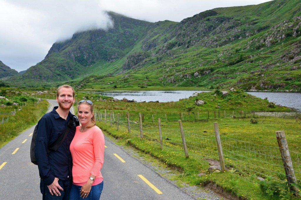 Forget Someday Travel Blog couple in Ireland