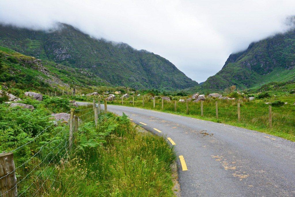 Mountain road Gap of Dunloe