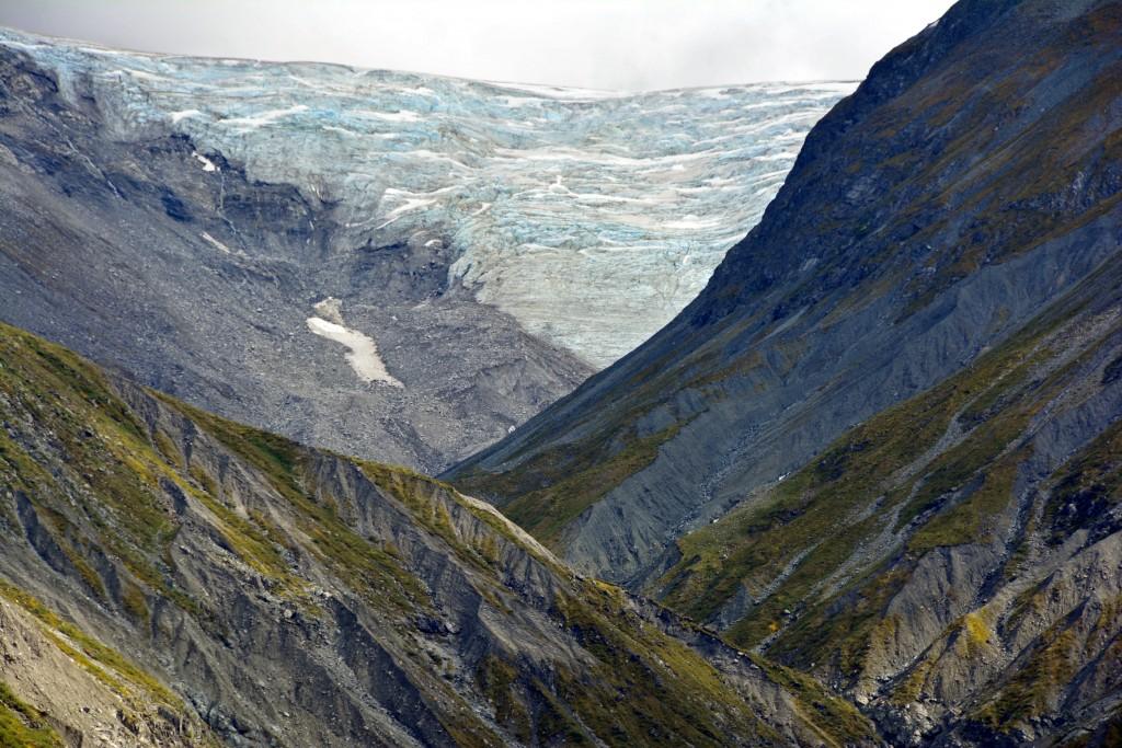 Glaciers in Glacier Bay Alaska