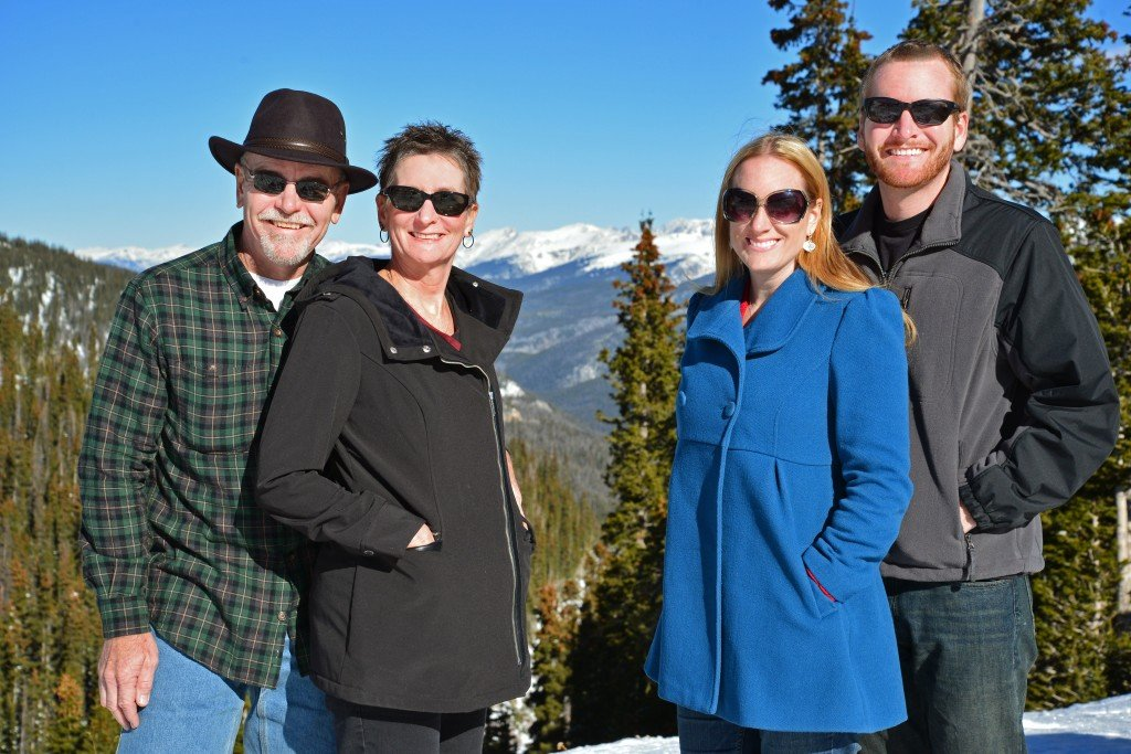 Two couples in Colorado