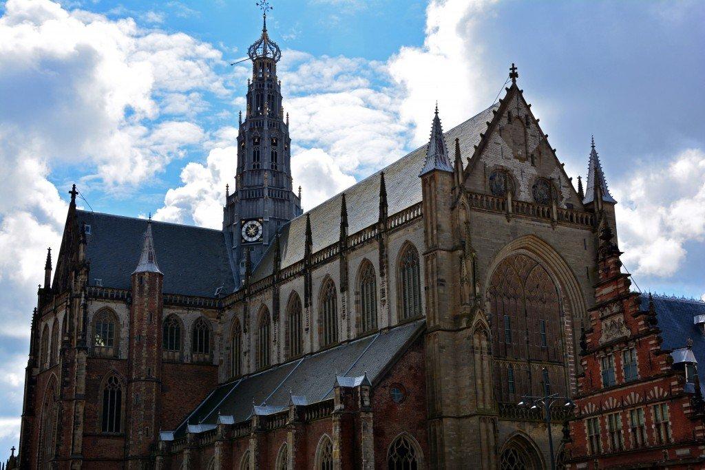 Church Haarlem Netherlands