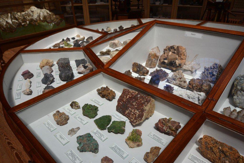 Rocks and minerals Teylers Museum Haarlem Netherlands