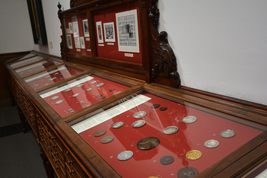 Coins and Medals Teylers Museum Haarlem Netherlands