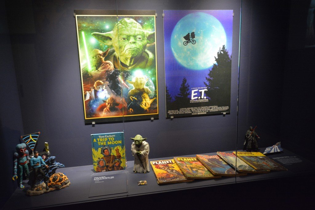 Star Ward and ET memorabilia