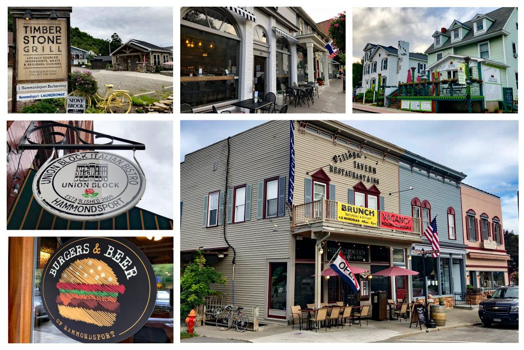 Hammondsport NY restaurants
