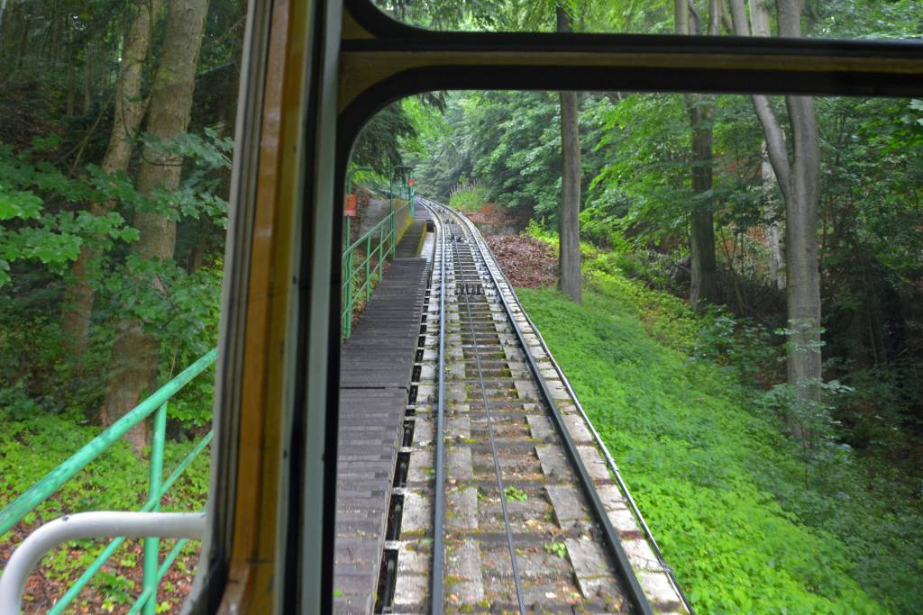 Funicular to Diana Observation Tower on Friendship Hill