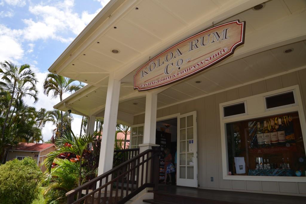 Koloa Rum Company kauai