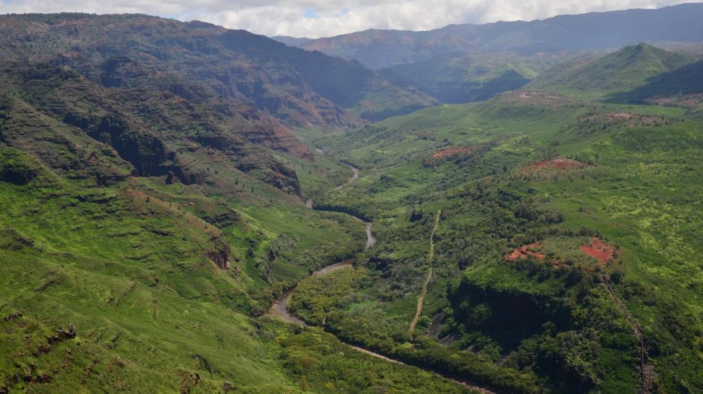 Waimea Canyon Road Kauai