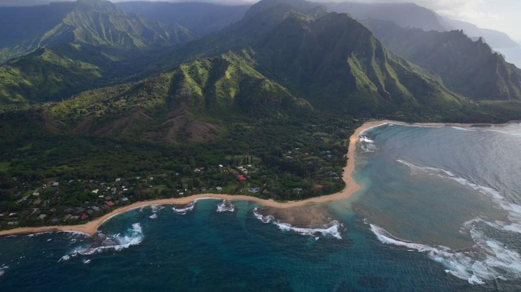 Kauai coast beach