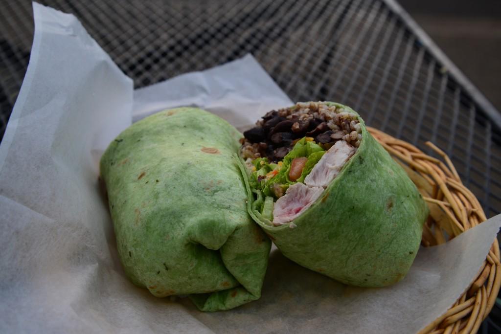 Mermaid Cafe burrito