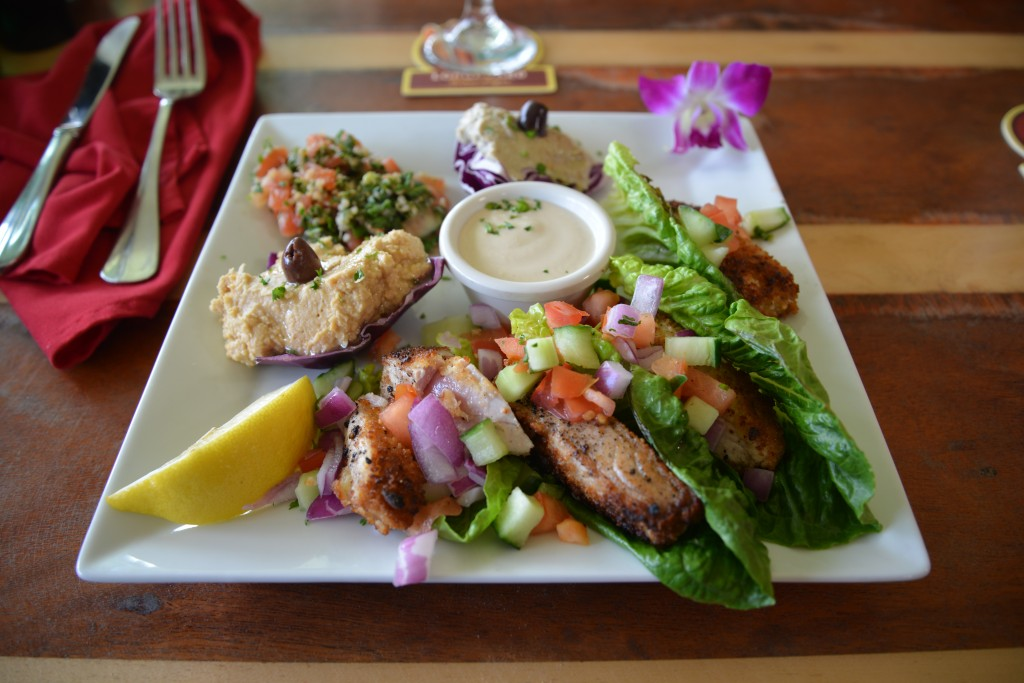 Mediterranean Gourmet Places to eat in Kauai