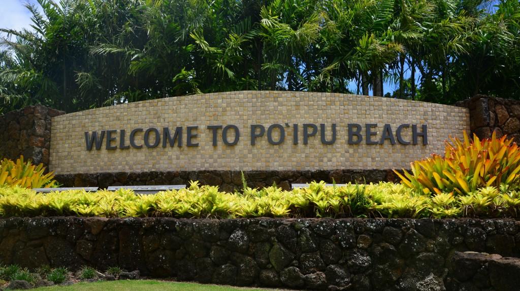 Po'ipu Beach Kauai Hawaii