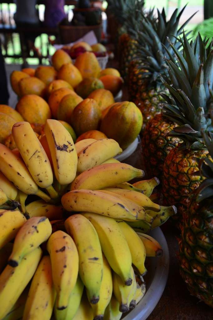 Maloa'a Juice Bar fresh fruit