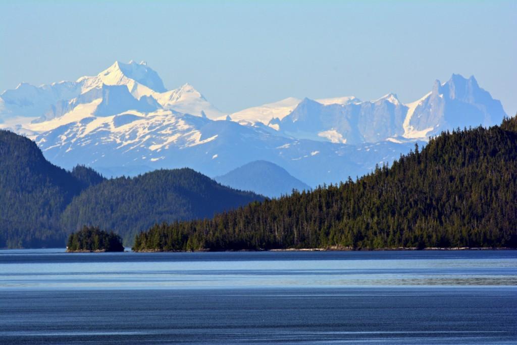 Glacier Mountains Alaska