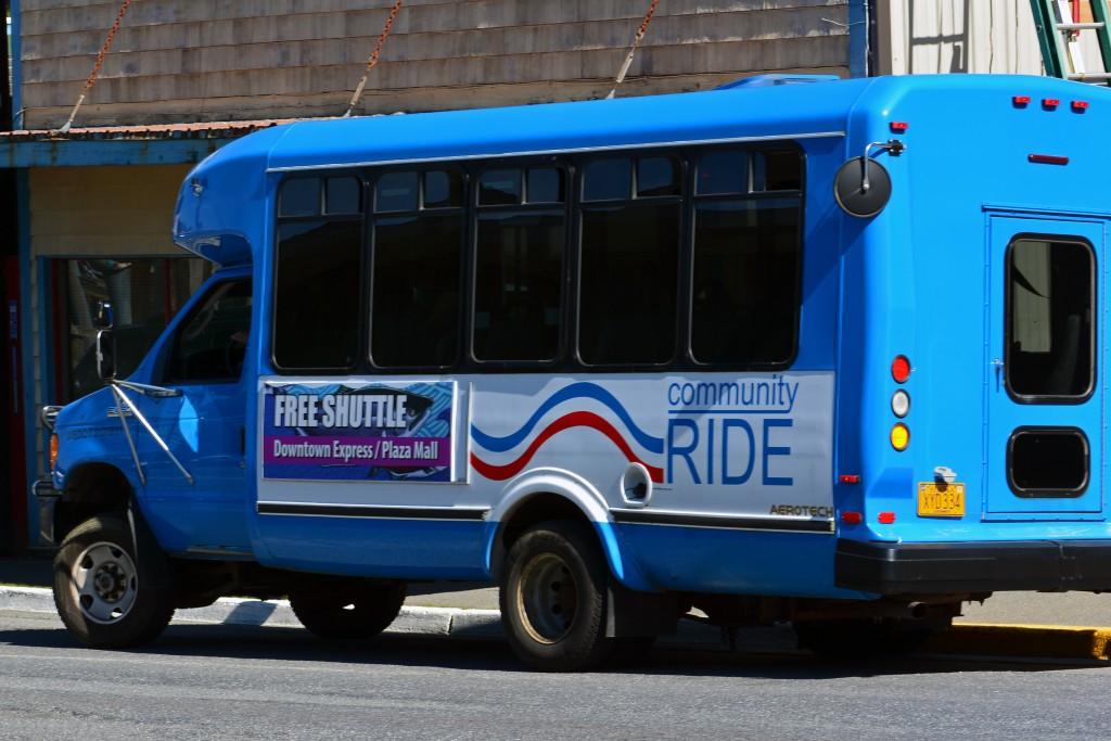 free shuttle bus Ketchikan