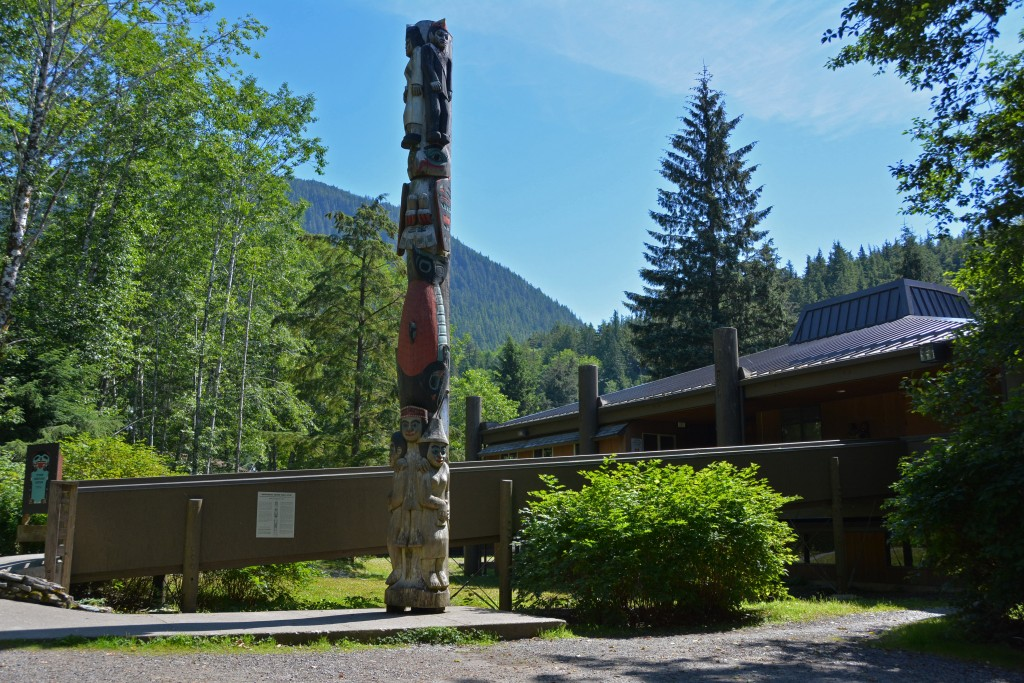 Totem pole Ketchikan Alaska