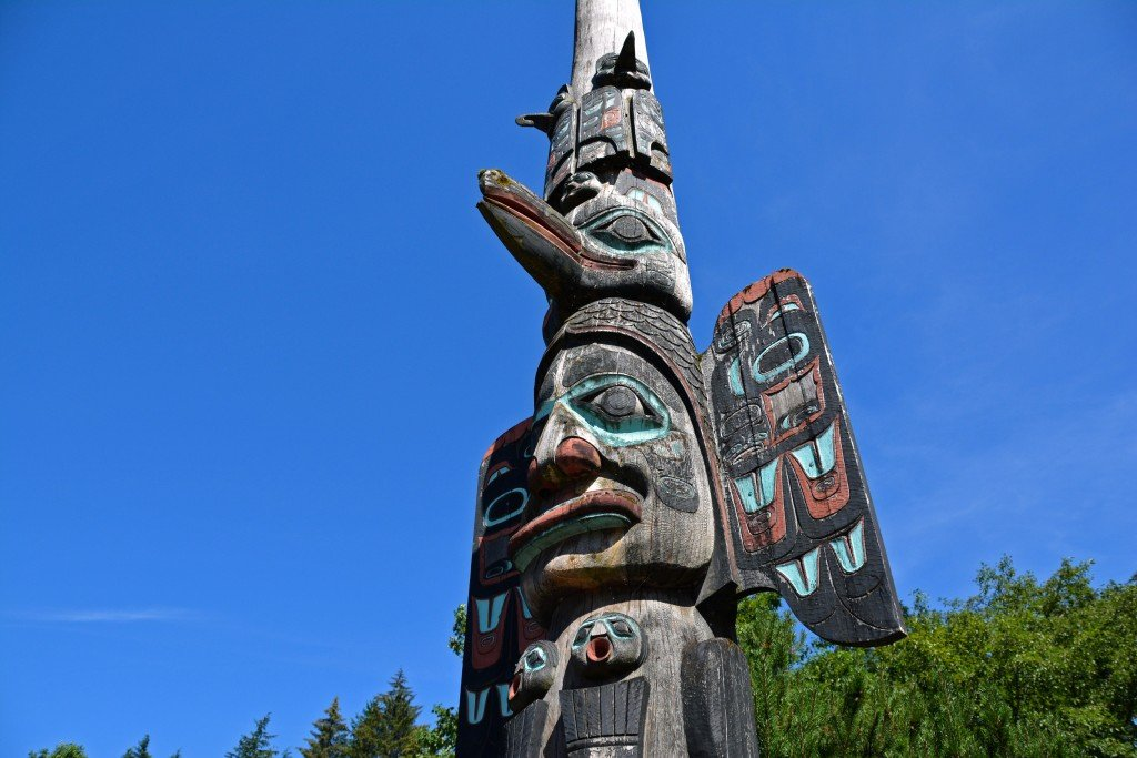 Totem Poles In Ketchikan Alaska Forget Someday