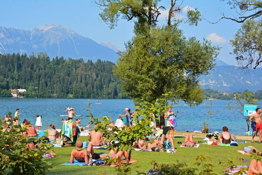 Beach near Camping Bled