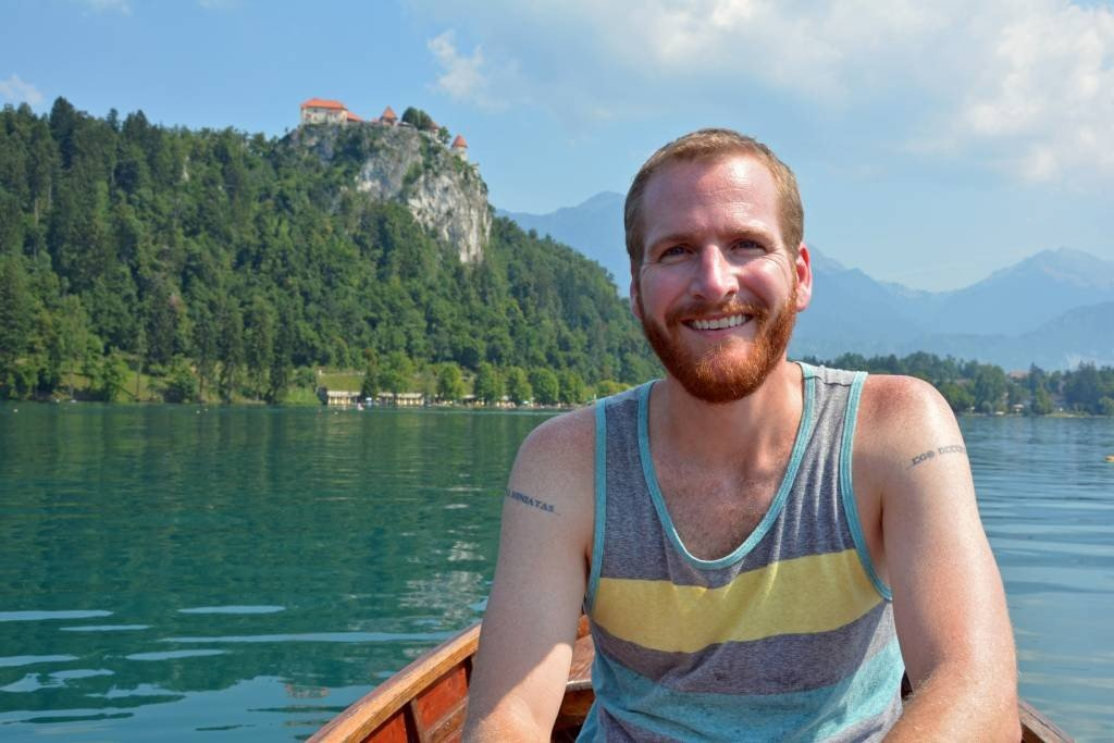 Row Boat Lake Bled